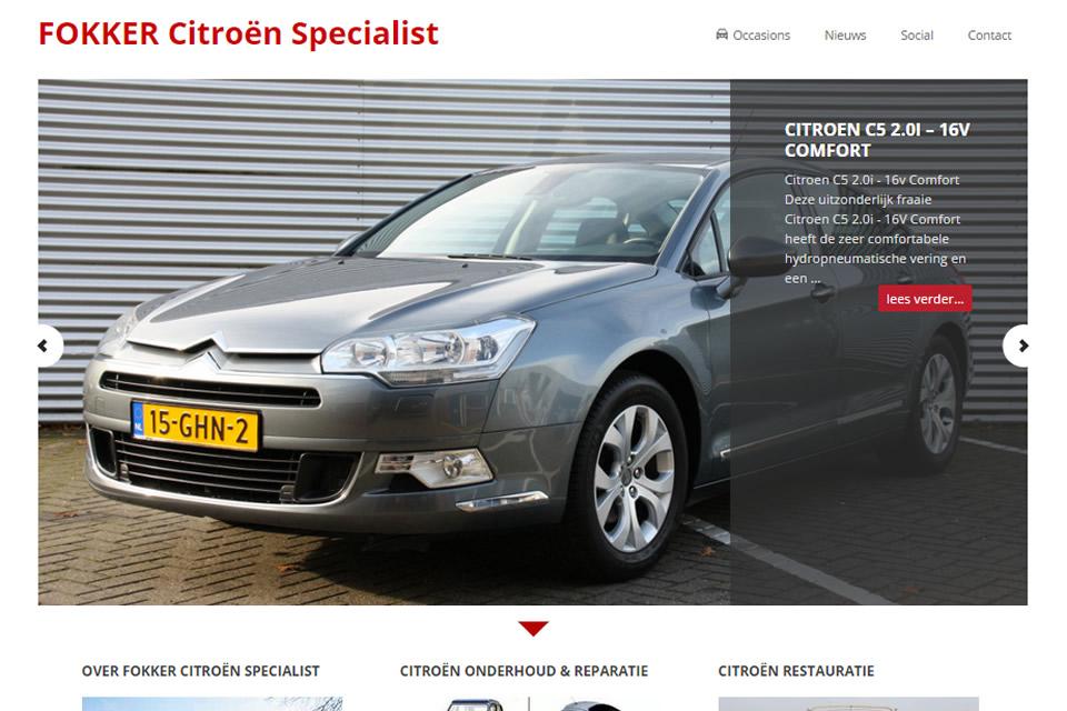Fokker Citroën specialist