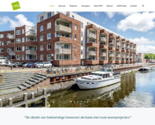 Website latei.nl voorpagina